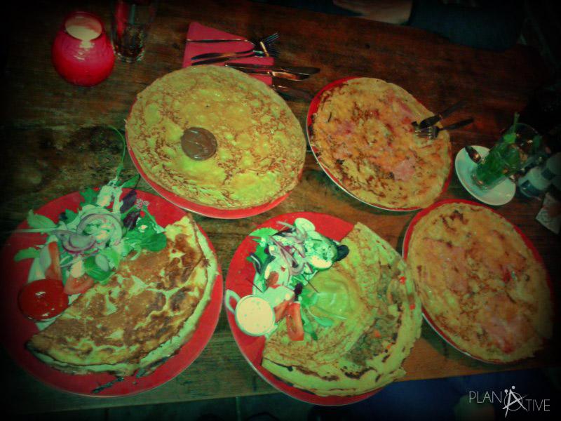 Pancakes, eine Spezialität der Amsterdamer und holländischen Küche - (copyright: planätive)