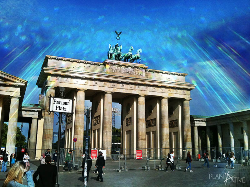 Brandenburger Tor am Pariser Platz in Berlin, Deutschland (copyright: planätive)