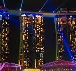 Tägliche Gratis Lasershow am Marina Bay Sands (copyright: planätive)