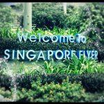 Der tropische Eingang zum Park des Singapore Flyer - © Planätive