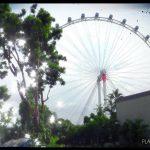 """Die Zahl """"8"""" spielt beim Singapore Flyer eine besondere Rolle - © Planätive"""