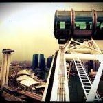 Beeindruckender Ausblick vom Singapore Flyer - © Planätive