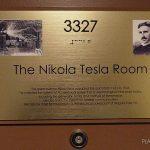 Zimmer 3327 im New Yorker Hotel in Mid Town New York, in dem Nikola tesla 10 Jahre lebte und verstarb. - © Planätive