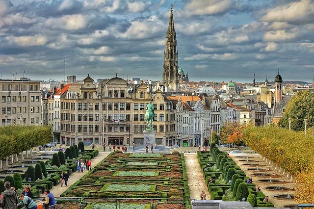Brüssel Sehenswürdigkeiten Karte.Gratis Brüssel Stadtplan Mit Sehenswürdigkeiten Zum Download Planative