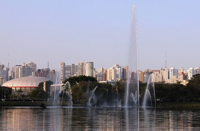 Ibirapuera Park - der größte Park Sao Paulos