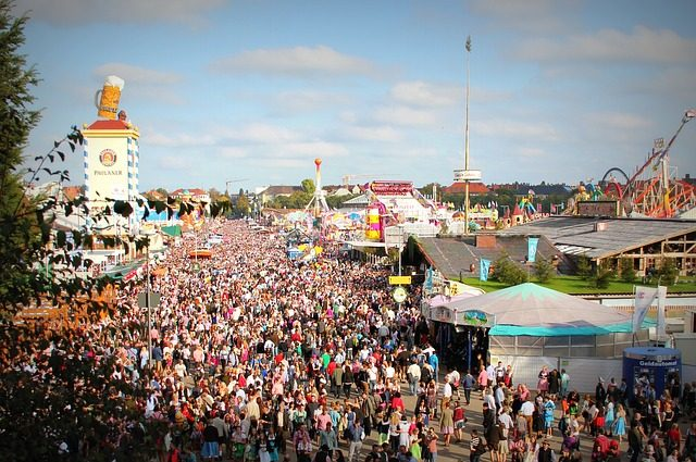 Besucherrekord auf der Wiesn am Oktoberfest München