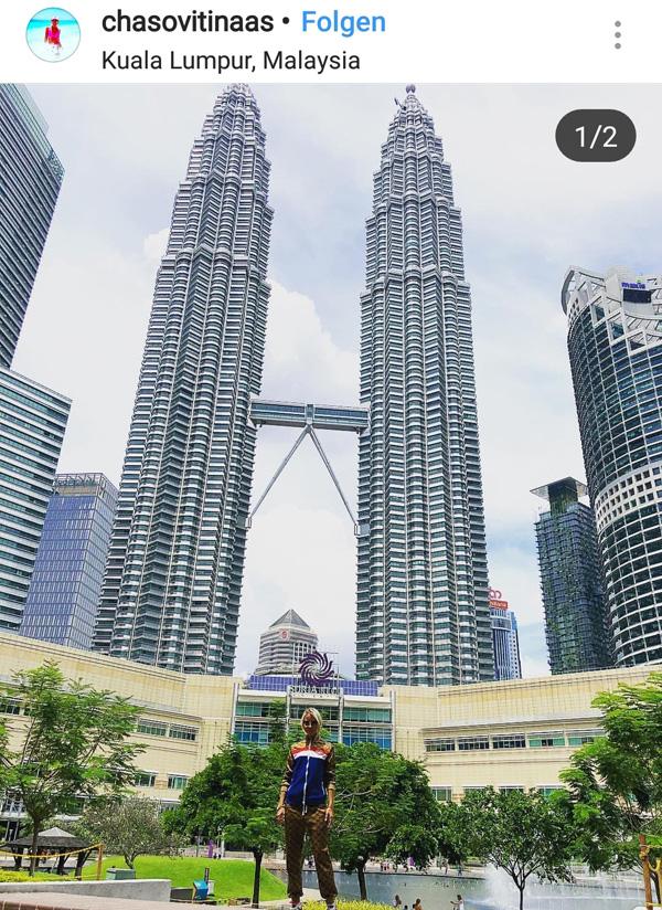 Instaspot for Petronas Towers - KL (c)chasovitinaas