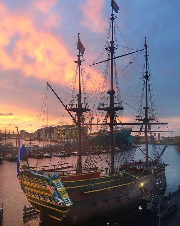Amsterdam-Best Instagram by @bettie79 - Scheepvaartmuseum