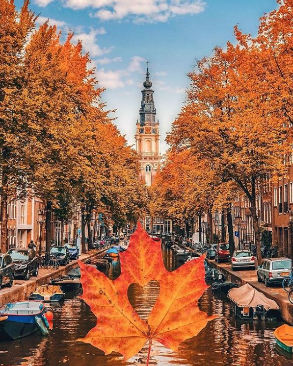 Amsterdam-Best Instagram by @takemyhearteverywhere - Groenburgwal