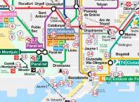 Barcelona Stadtplan mit Sehenswürdigkeiten zum Gratis Download