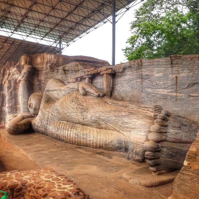 Gal Viharaya - die vier Buddhas in Polonnaruwa - (c) planative.net