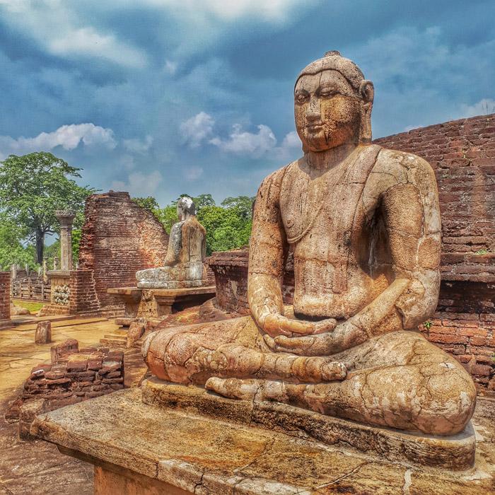 Wantage Buddhatempel in Polonnaruwa, Sri Lanka (c) planative.net