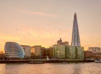 Skyline London mit The ShardSkyline London mit The Shard