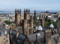 Stadtplan mit Sehenswürdigkeiten von Edinburgh - Bild von lino9999 auf pixabay.com