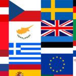Nationalflaggen zum Gratis Vektor Download