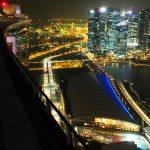 Der beste Blick auf Singapur ohne Eintritt zu bezahlen im Marina Bay Sands