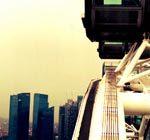 Die beste Tageszeit für den Singapore Flyer