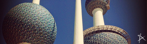 Kuwait Towers, Kuwait City - © Planätive