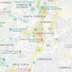 Gratis São Paulo Stadtplan mit Sehenswürdigkeiten zum Download