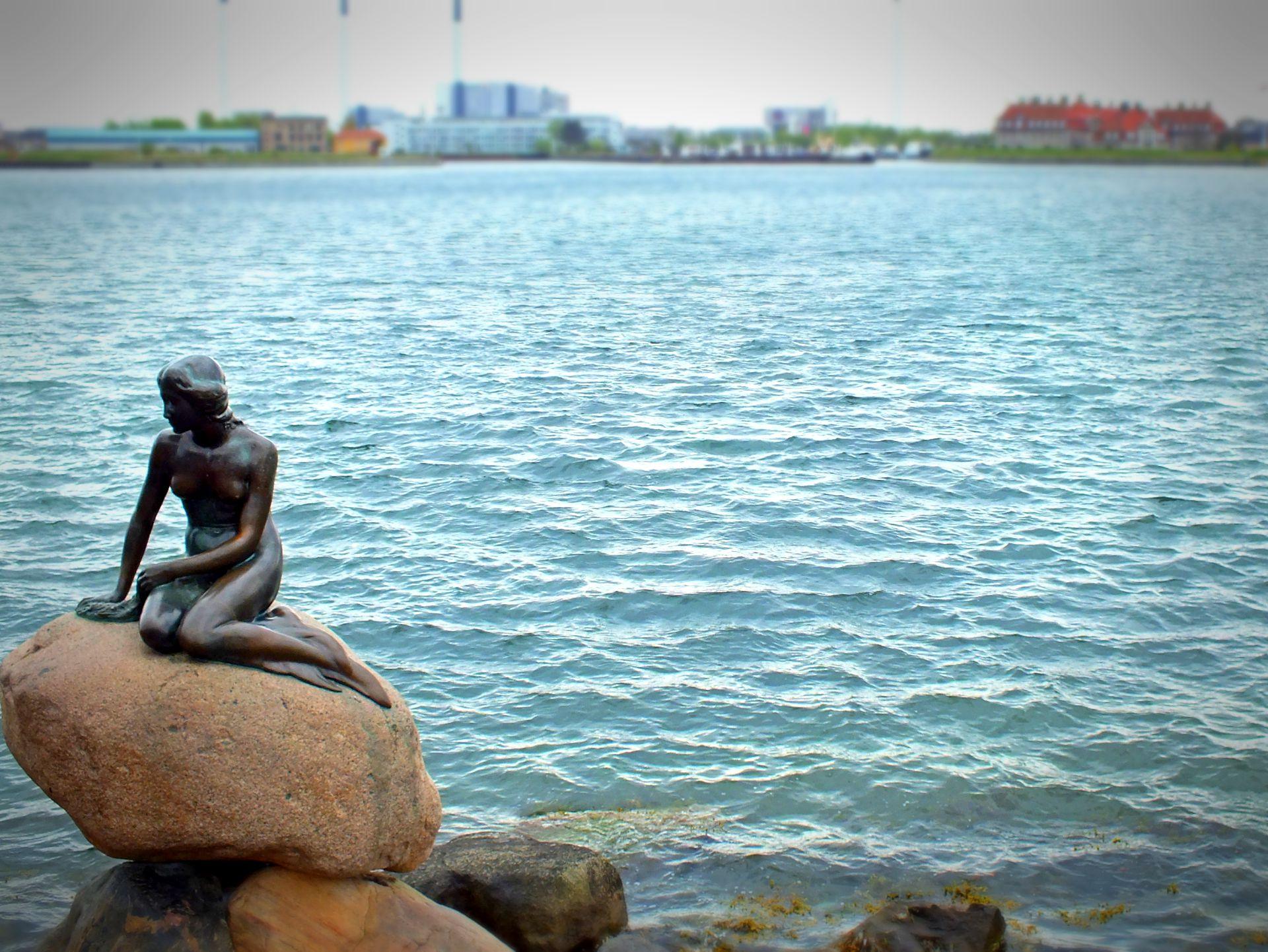 Die kleine Meerjungfrau in Kopenhagen - Dänemark