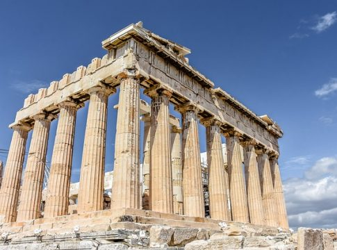 Top Sehenswürdigkeiten von Athen auf einem Blick (c) timeflies1955
