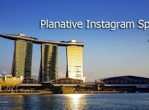 Die Top Instagram Photo Spots in Singapore auf Planative.net