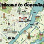 Kopenhagen Stadtplan mit Sehenswürdigkeiten zum Gratis Download
