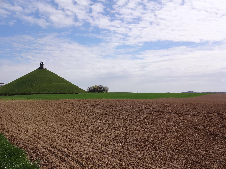 Napoleons Butte De Lion in Waterloo