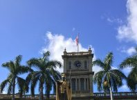 Die Statue von Hawaiis König Kamehameha, bekannt aus der Serie Hawaii Five-O, Bild von Akiko_Y-Pixabay