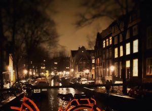 Amsterdam like a local - am besten bei Nacht!