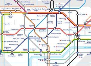 London U-Bahn Plan, (c) www.tfl.gov.uk